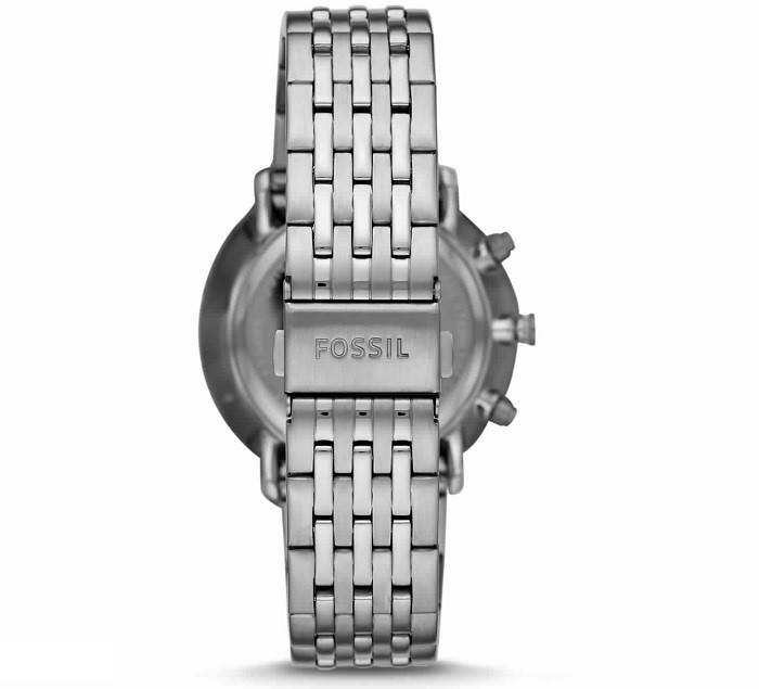 Fossil FS5489P Chase Timer Chronograph Smoke Stainless Steel Watch