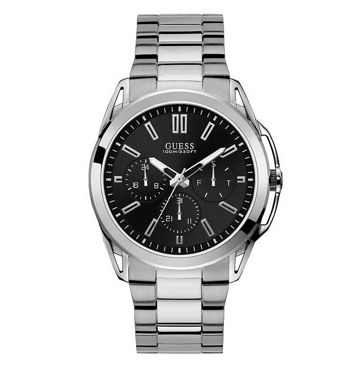 Guess U1176G2 Silver-Tone Multi-function Watch