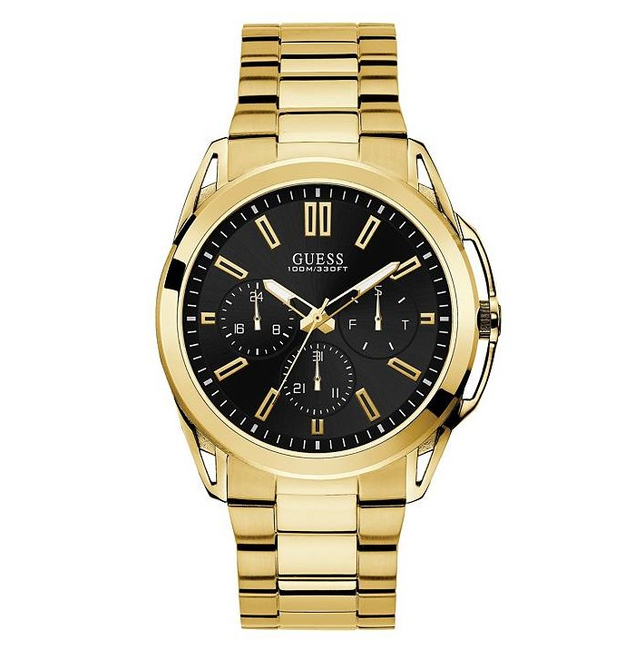 Guess U1176G3 Gold-Tone Multi-function Watch