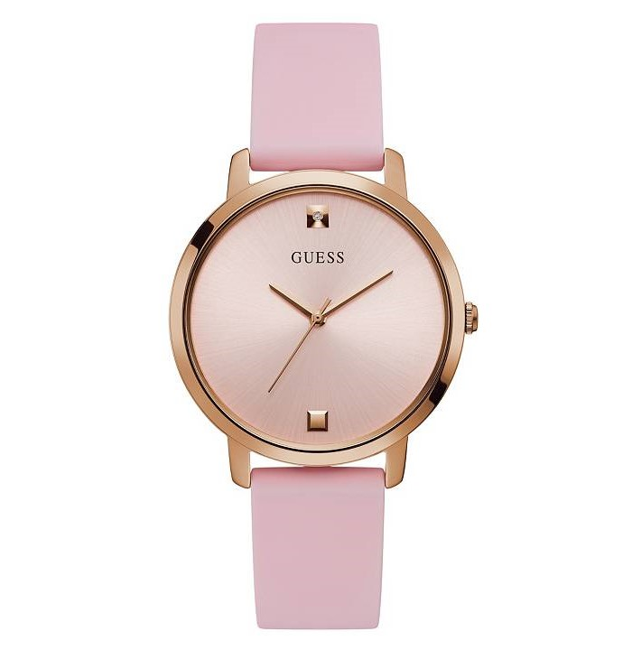 Guess U1210L3 Gold Tone and Pink Analog Women's watch