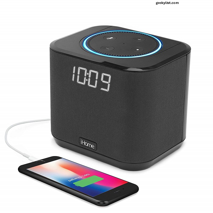 iHome iAV2 Docking Amazon Echo Dot Speaker System
