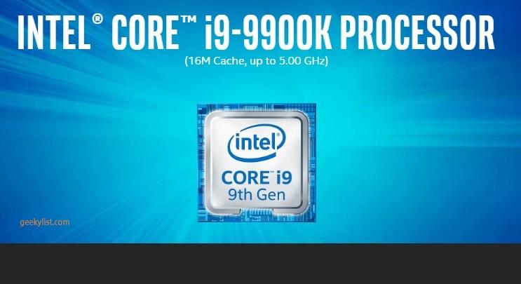 Intel Core i9-9900K (BX80684I99900K) Desktop Processor