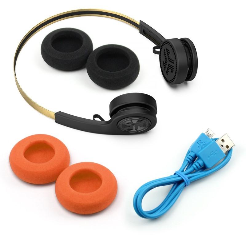 JLabAudio Rewind Icon Wireless Retro Over-Ear Headphones