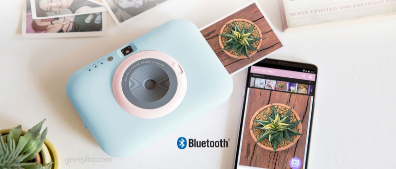 LG PC389S Pocket Photo Snap Instant Camera