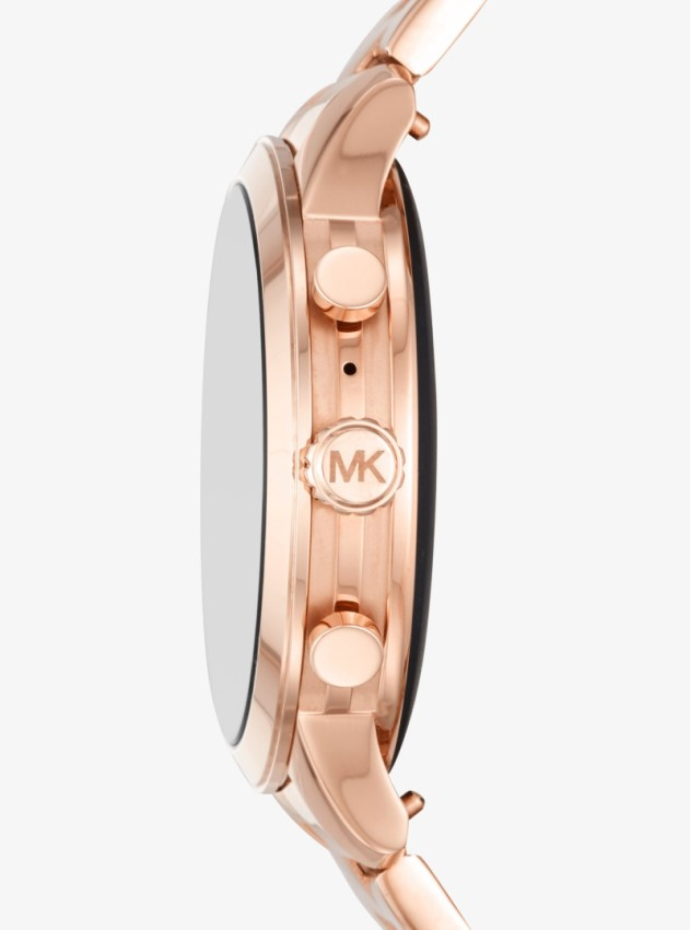 Michael Kors Access MKT5046 Runway Rose Gold-Tone  Smartwatch