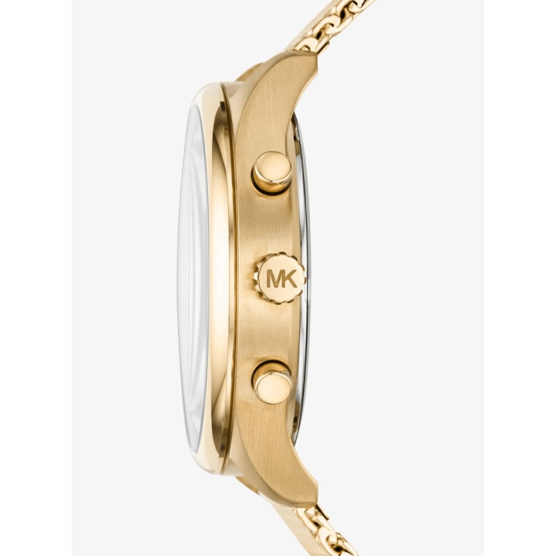 Michael Kors MK8645 Merrick Gold-Tone Mesh Chronograph Mens Watch