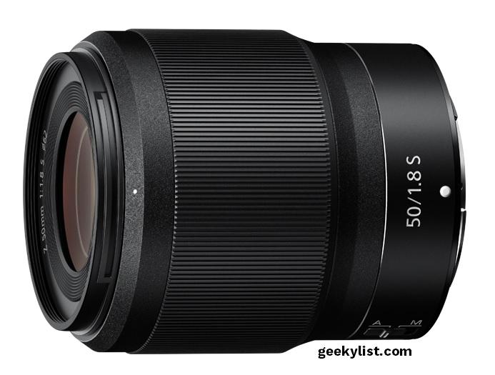 Nikkor Z 50mm lens for Nikon mirrorless camera