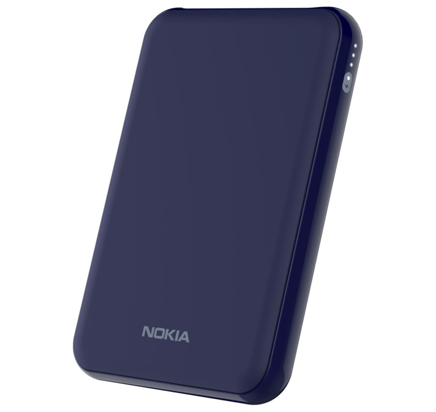 Nokia Portable Wireless Charger DT-500 - A Power Bank and Wireless Charger All in One.