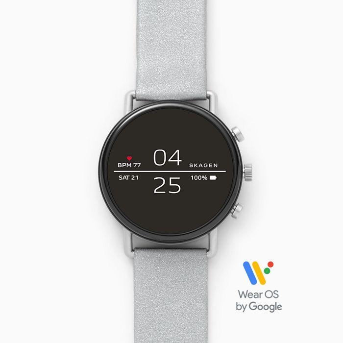 Skagen Falster 2 (SKT5106) Smart-Watch Reflective Silver Strap