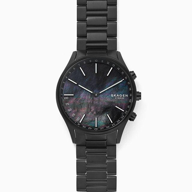 Skagen Holst (SKT1312) Hybrid Smartwatch (Black Titanium)
