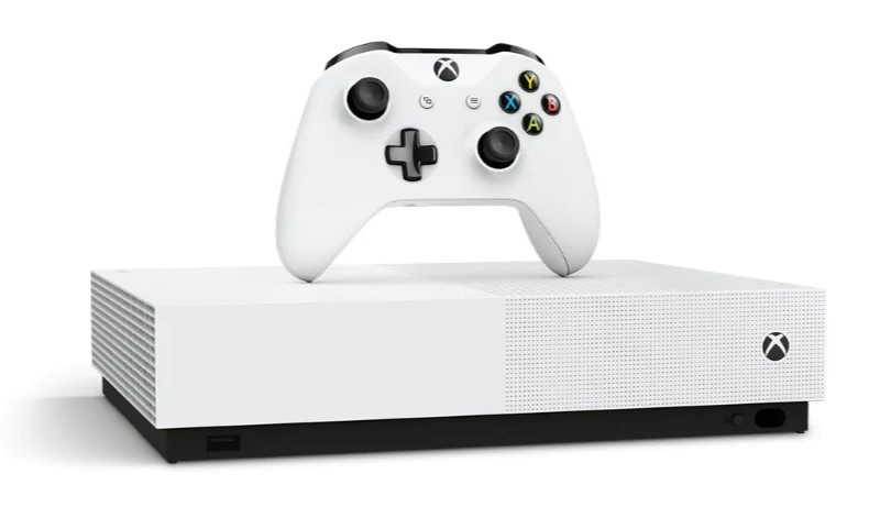 Xbox One S All-Digital Edition Gaming Console