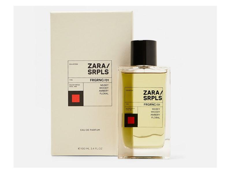 Zara SRPLS FRGRNC/01 100 ML Eau De Parfum (0110/070)