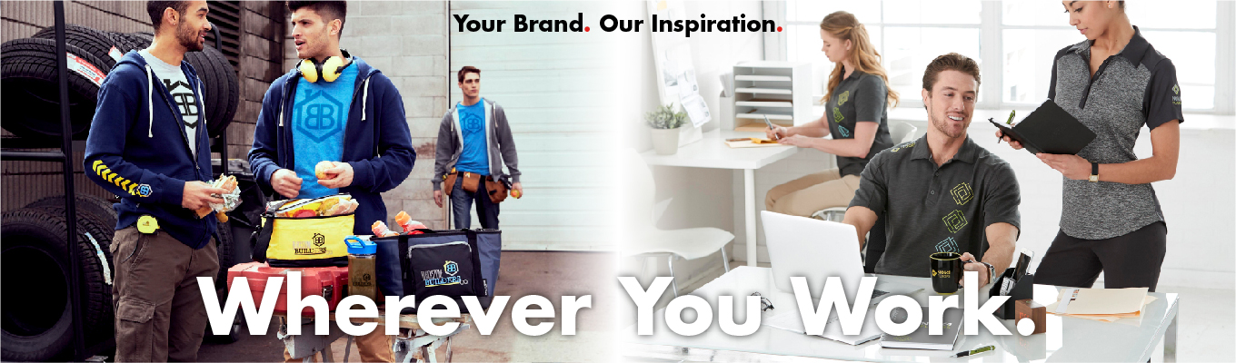 Your Brand, Wherever You Work
