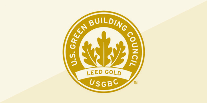 Geiger Earns Gold Level LEED Certification