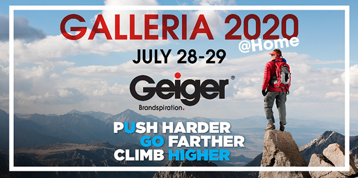 Geiger Galleria 2020 Goes Virtual