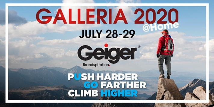Geiger Galleria 2020 Goes Virtual