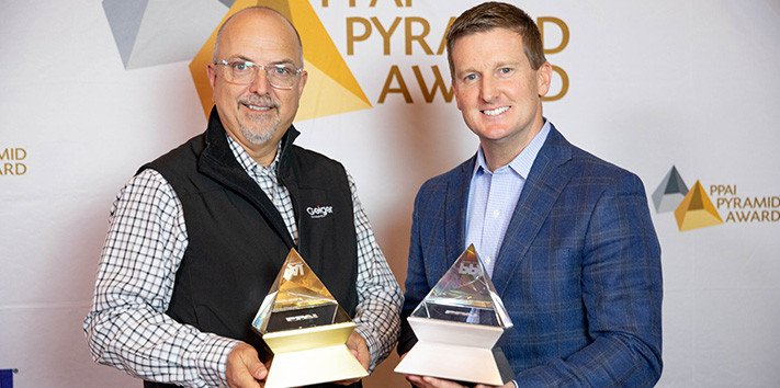 Geiger Honored with PPAI Pyramid Awards