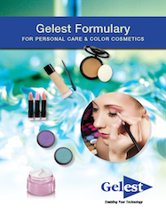 Gelest Formulary for Personal Care and Color Cosmetics