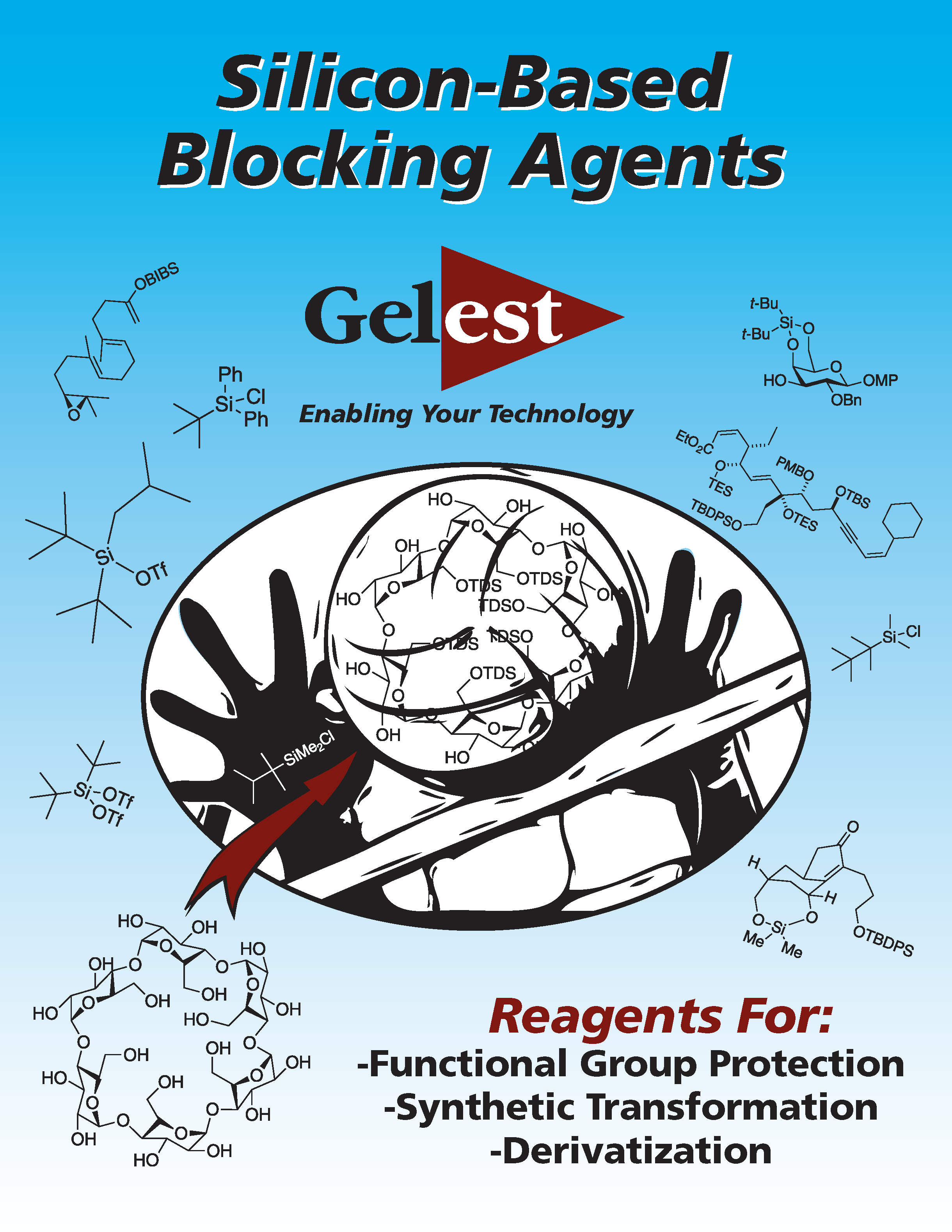 Silicon-Based Blocking Agents