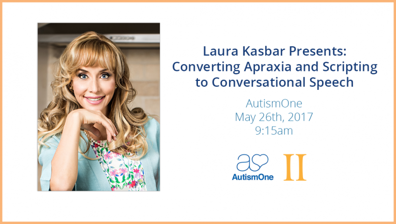 Laura Kasbar is Presenting at Autism One 2017!