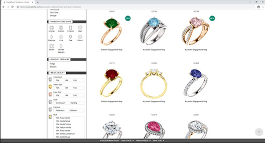 Gemvision | CounterSketch, custom jewelry design in front of your