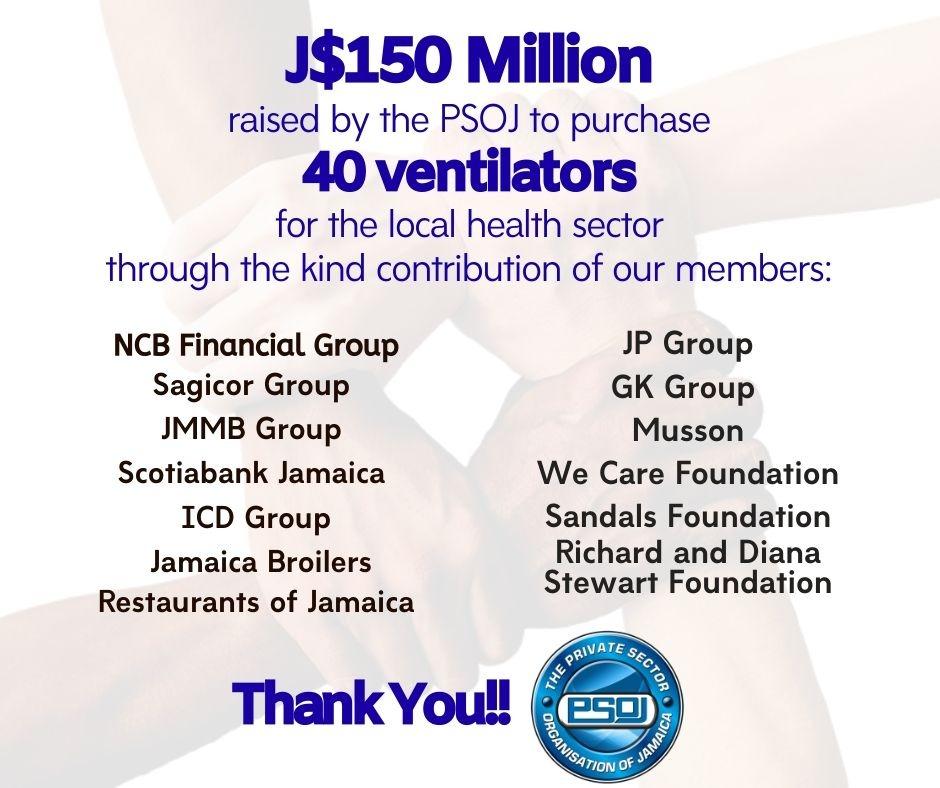 PSOJ Donation