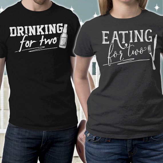 Drinking For Two Pregnancy Announcement Gift Ideas