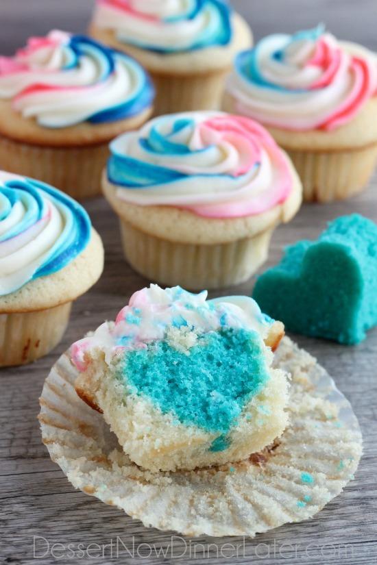 Cupcake Reveal Idea