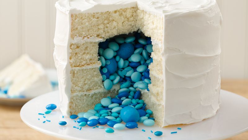 Surprise on the Inside Gender Reveal Cake