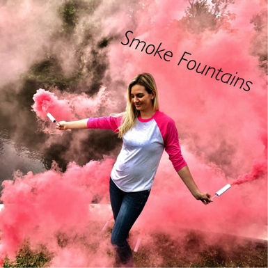 Gender Reveal Smoke Fountains