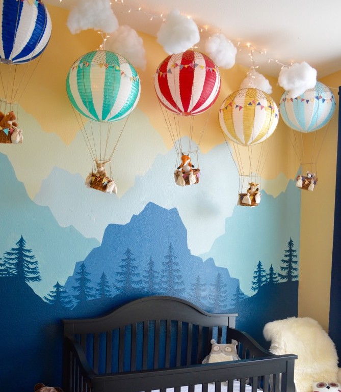 Home Quirks Differences In Decorating By Gender An: Decorating The Nursery: Baby Boy Edition