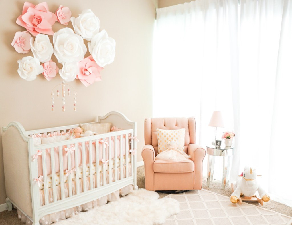 Decorating The Nursery Baby Girl Edition