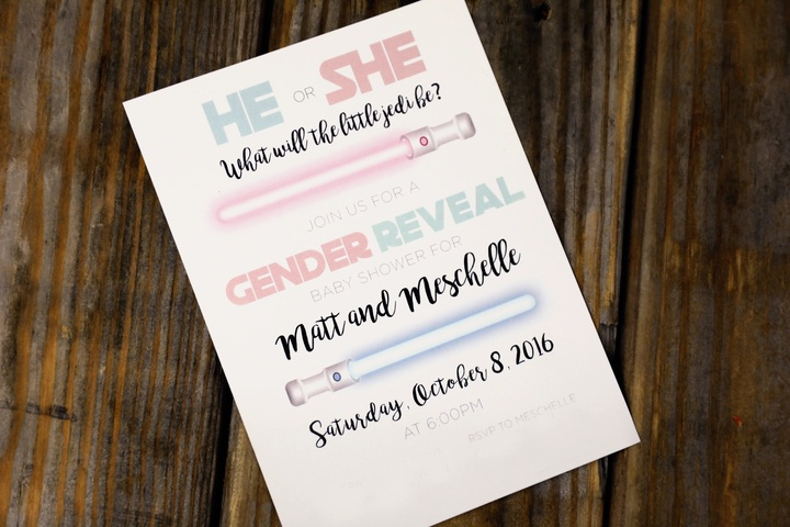 Creative & Unique Gender Reveal Party Invitation Ideas