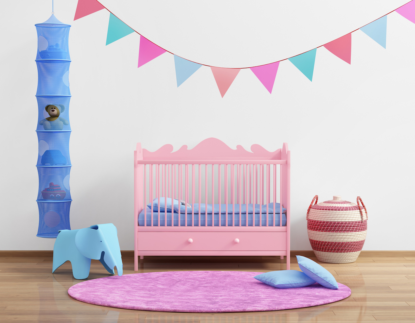 Decorating The Nursery: Baby Girl Edition