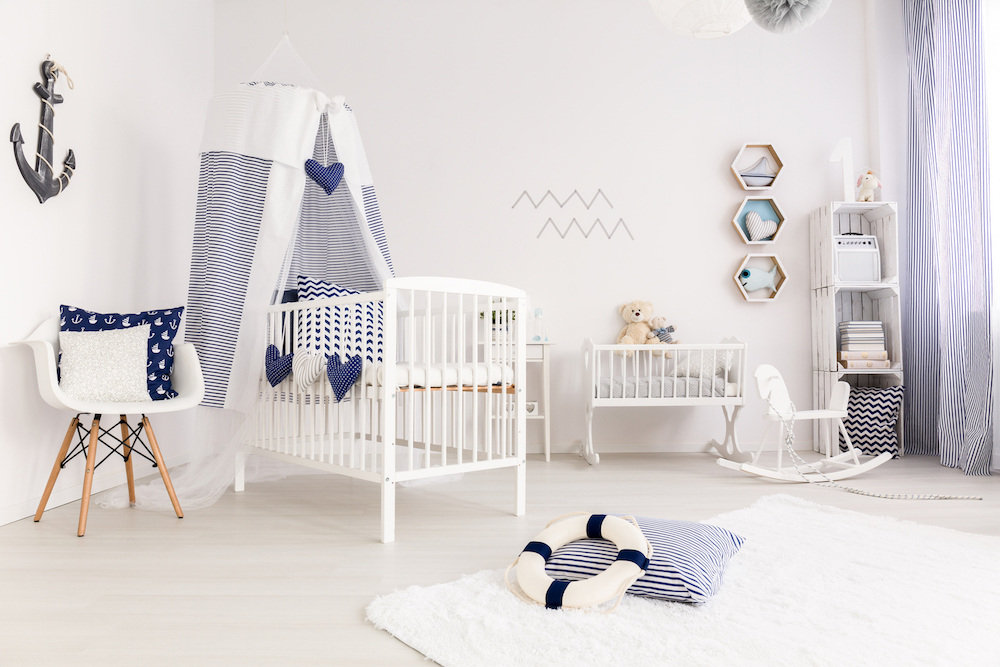 Decorating The Nursery: Baby Boy Edition