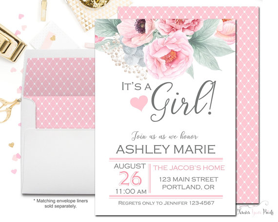 Baby Shower Invitations On A Budget ~ Throwing a baby shower on budget