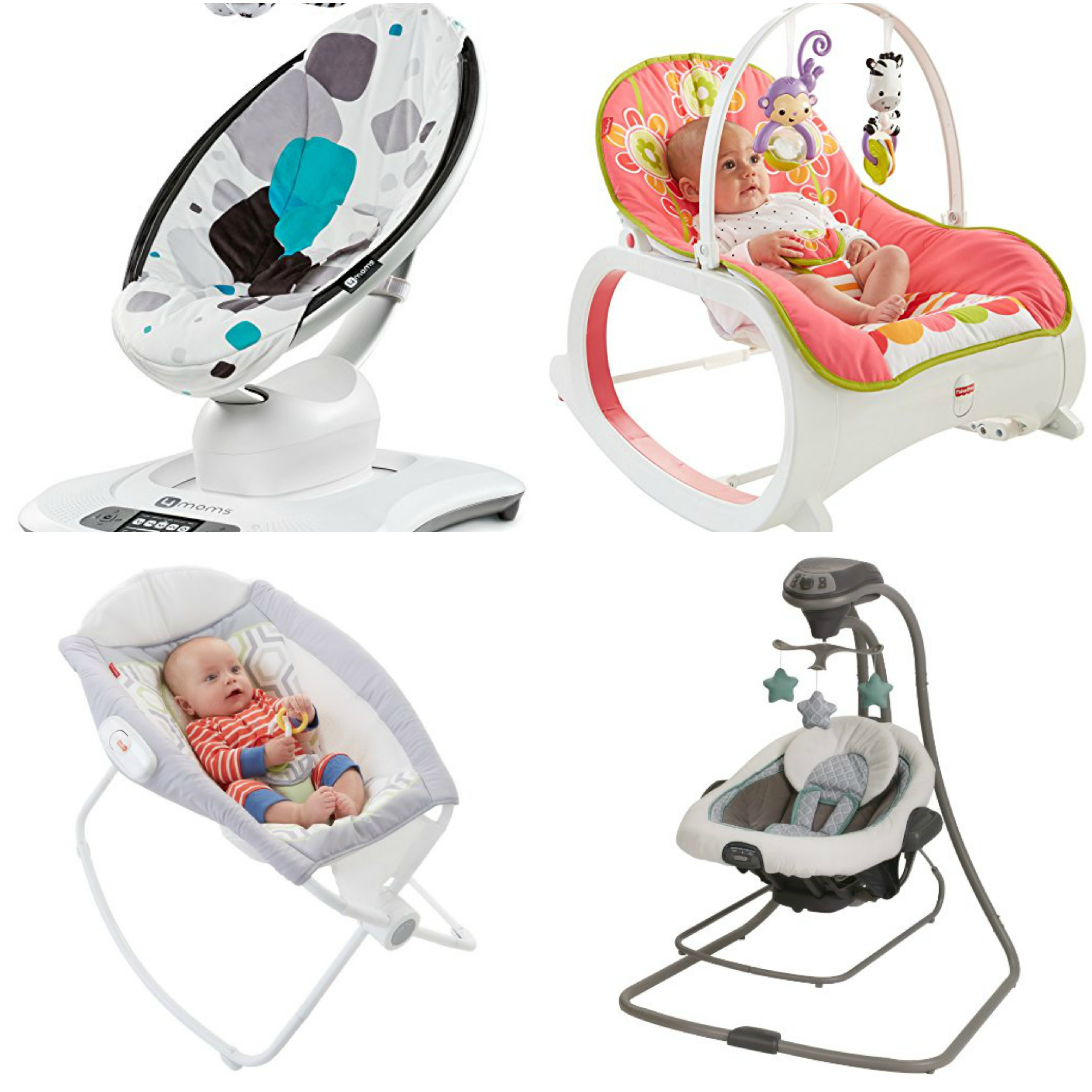 Product Review: Baby Bouncers and Rockers