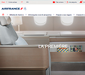 captura de tela de Air France
