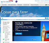 Site de British Airways