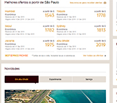 Site de Etihad Airways