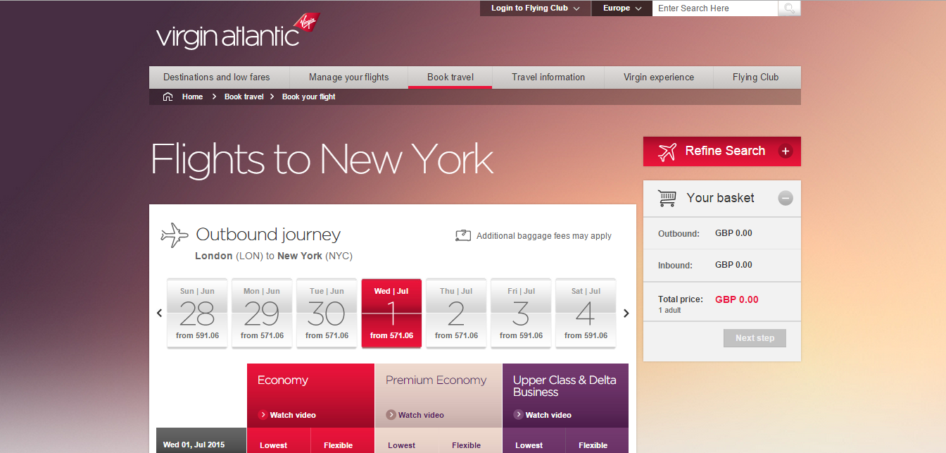 Virgin Atlantic: airline reviews and airline comparison - minube net