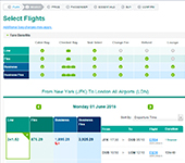 Screenshot of Aer Lingus