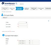 Screenshot of Aeromexico