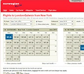 Screenshot of Norwegian Air Shuttle