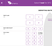 Virgin America Website