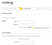 Vueling Website