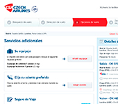 Web de Czech Airlines