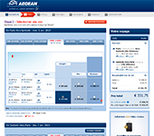 Site de Aegean Airlines