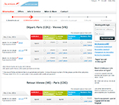 Site de Austrian Airlines