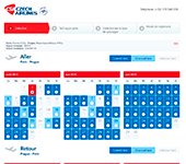 Site de Czech Airlines